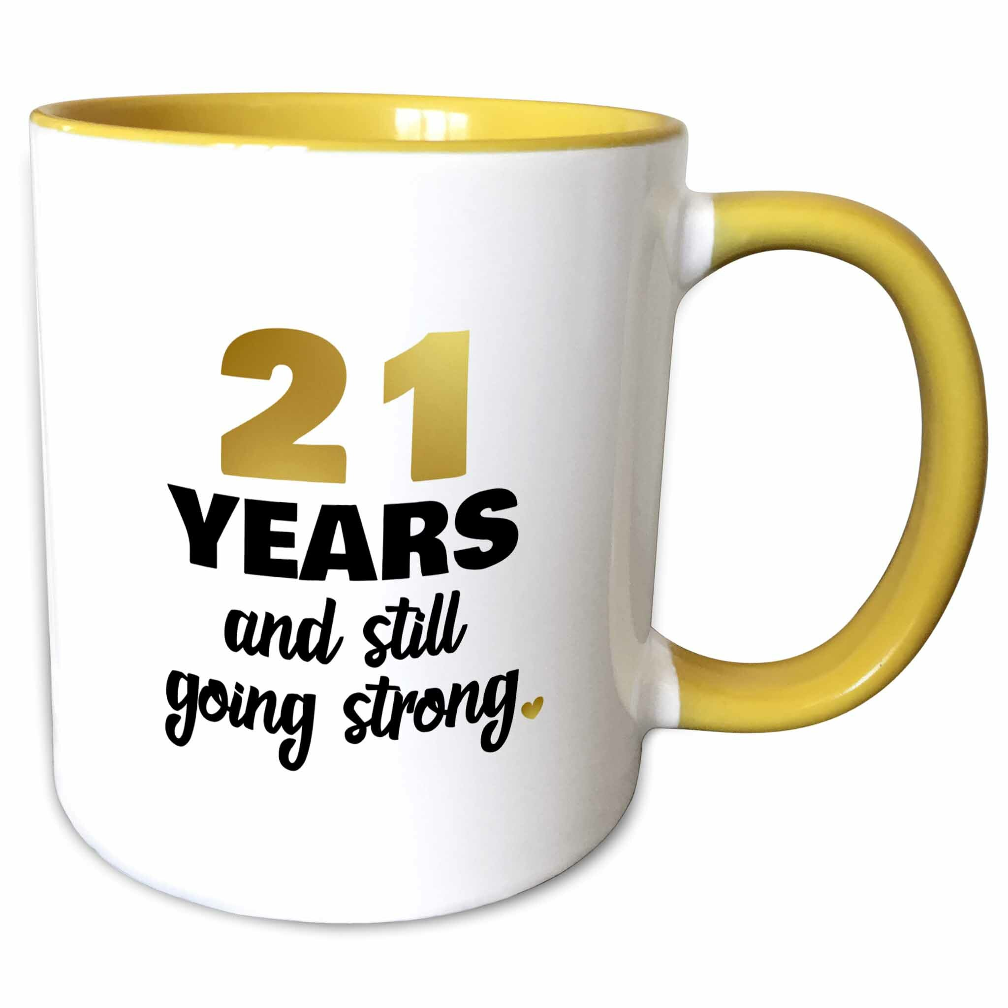21 Wedding Anniversary Gift: The Party Aisle 21 Years Still Going Strong 21st Wedding