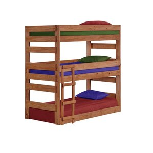 Ching Twin Triple Bunk Bed by Harriet Bee