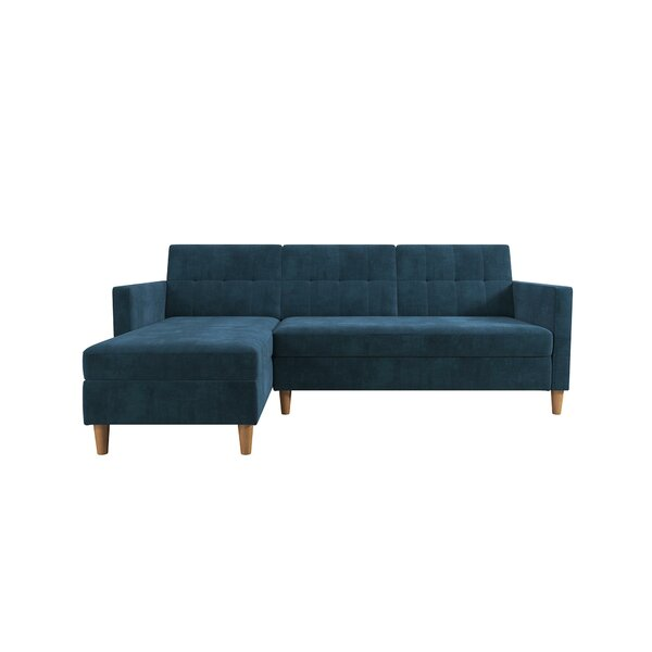 Navy Blue Sectional Sofa | Wayfair