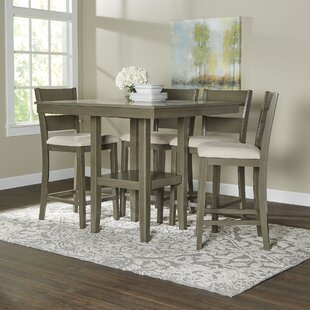 Height Of Dining Room Table dining room furniture dimensions Brantford 5 Piece Counter Height Dining Set