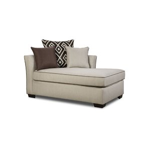 Latitude Run Simmons Upholstery Heath Chaise Lounge