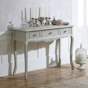 Del 3 Drawer Dressing Console Table By Brambly Cottage
