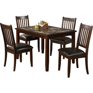 Harvest Moon 5 Piece Dining Set by Red Ba..