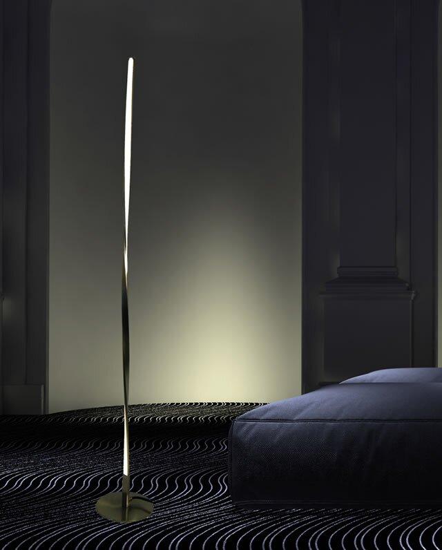 Californialighting modern 55 led floor lamp reviews wayfair modern 55 led floor lamp aloadofball Gallery