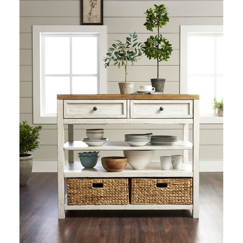 Trisha Yearwood Home Country Line Kitchen Island