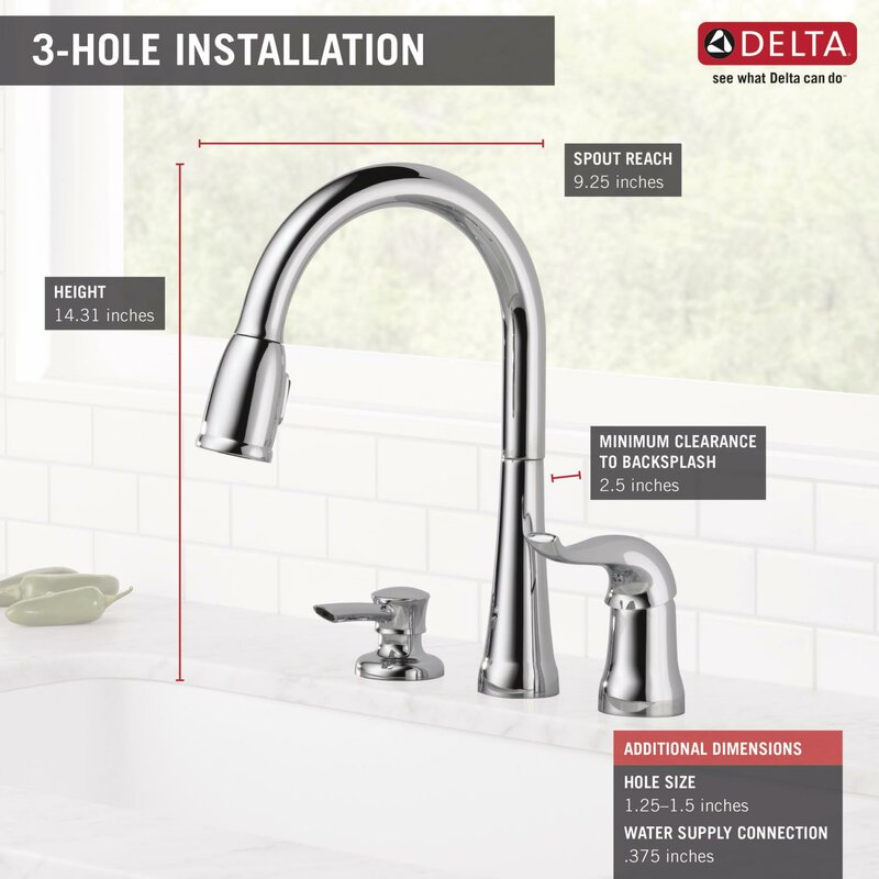 Genial Kate Pull Down Single Handle Kitchen Faucet With Diamond Seal Technology  And MagnaTite® Docking