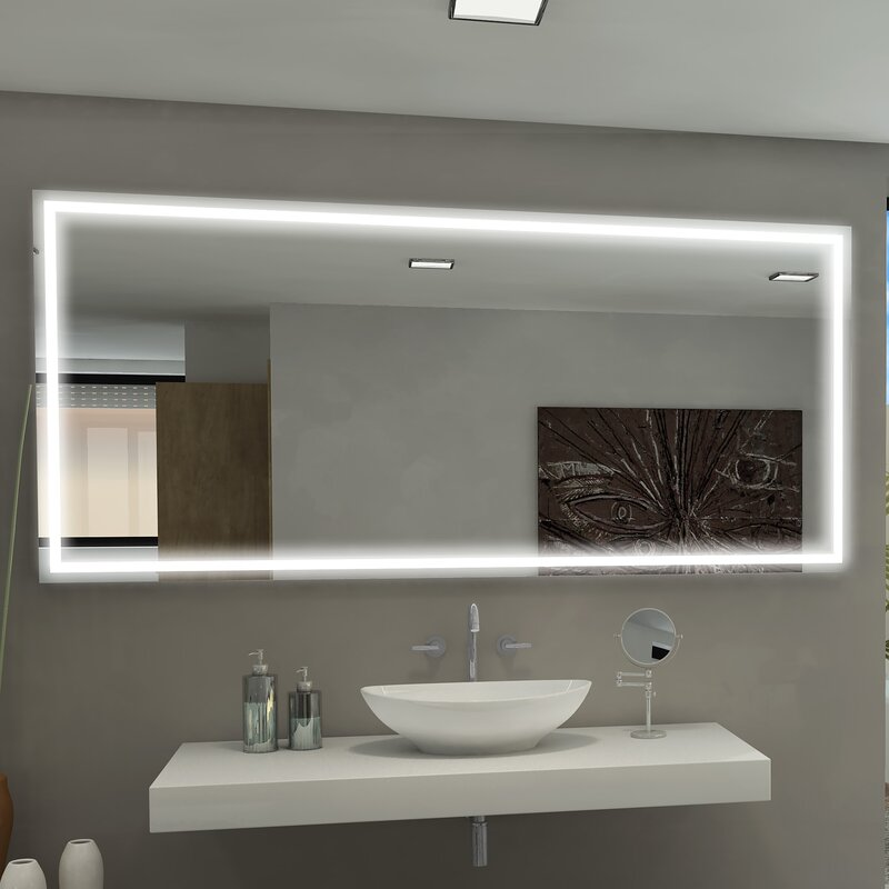 Paris mirror harmony illuminated bathroom vanity wall mirror harmony illuminated bathroom vanity wall mirror mozeypictures Image collections