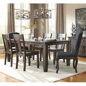 Baxter 7 Piece Dining Set by Loon Peak