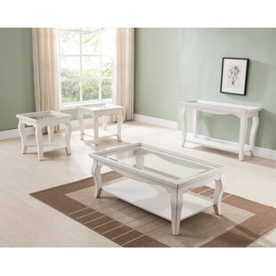 Aguirre 3 Piece Coffee Table Set