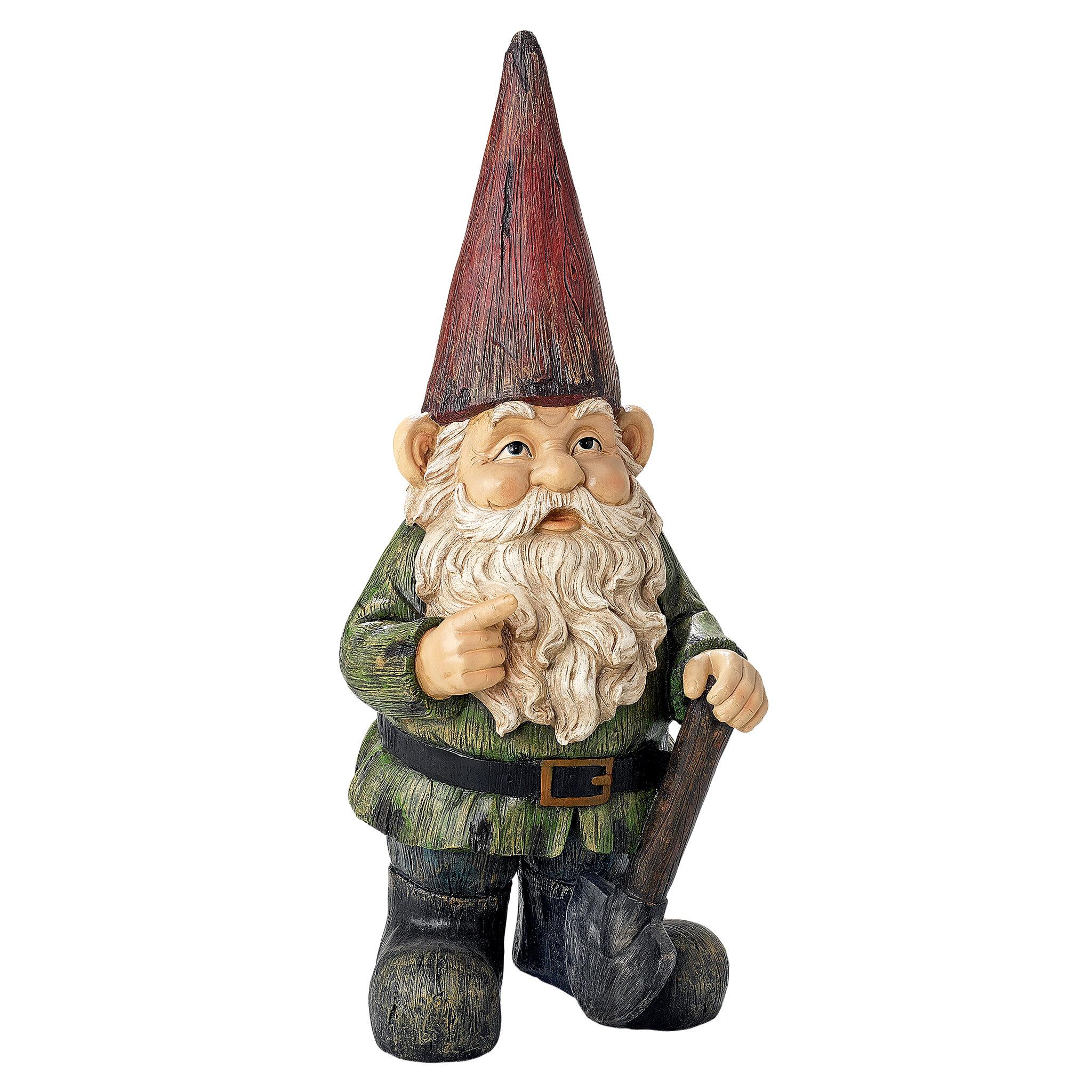 Genial Design Toscano Gottfried, The Gigantic Garden Gnome Statue U0026 Reviews |  Wayfair
