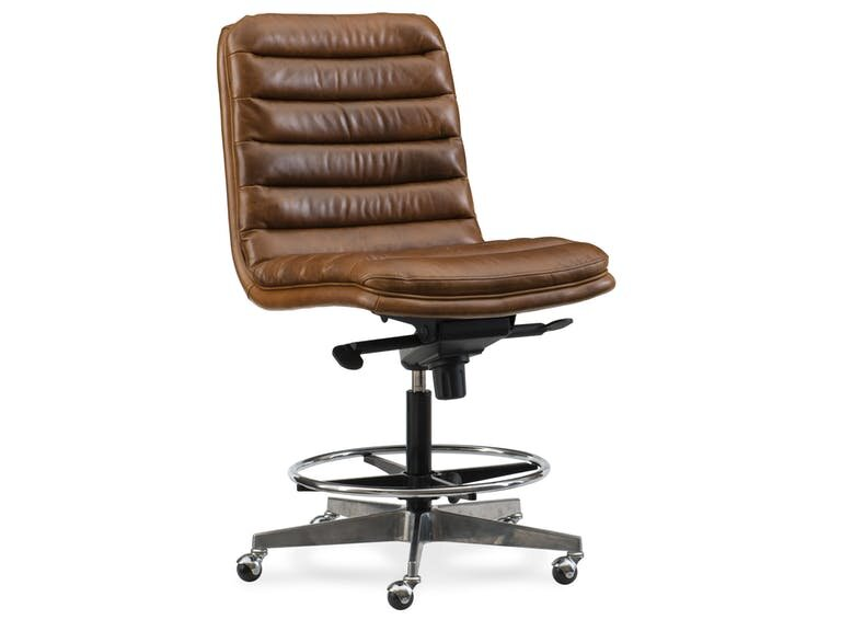 Wyatt Home Office High Back Leather Office Chair