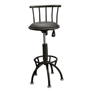 Moline Adjustable Height Swivel Bar Stool