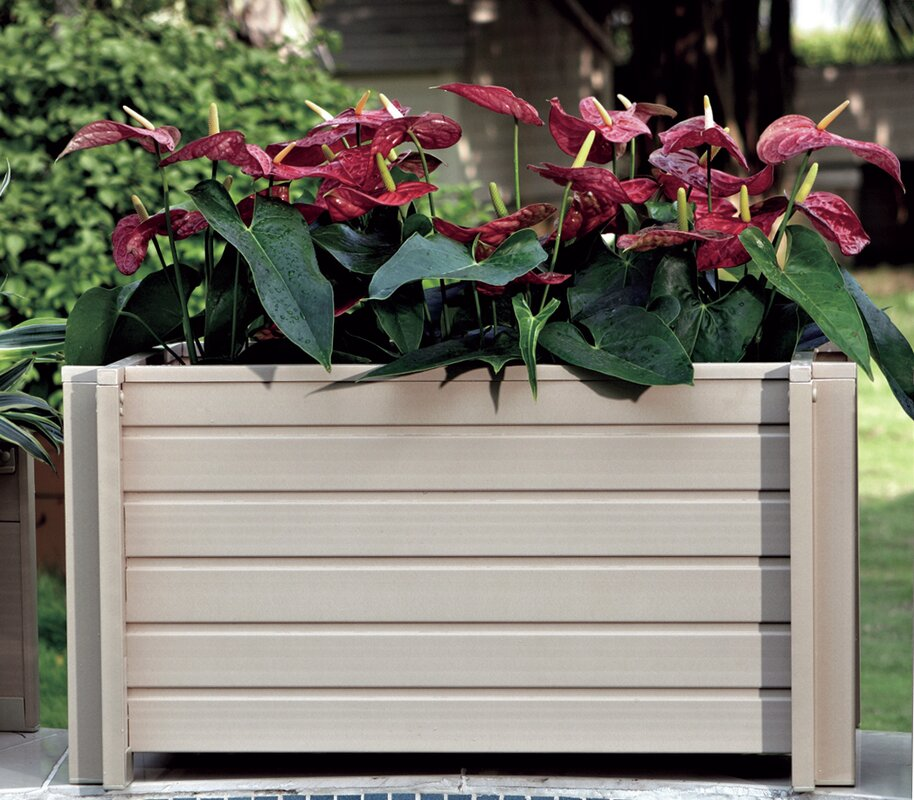 New age garden new age garden planter box reviews for Wayfair garden box