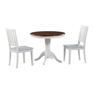 Cedarville 3 Piece Solid Wood Dining Set