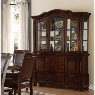 Cambria Buffet and Hutch China Cabinet