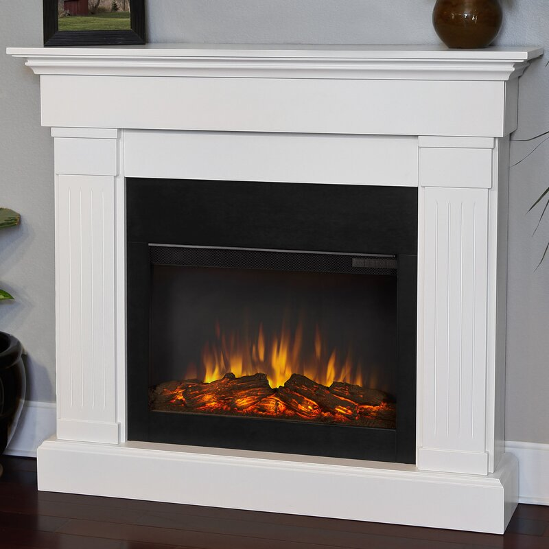 Bon The Crawford Electric Fireplace