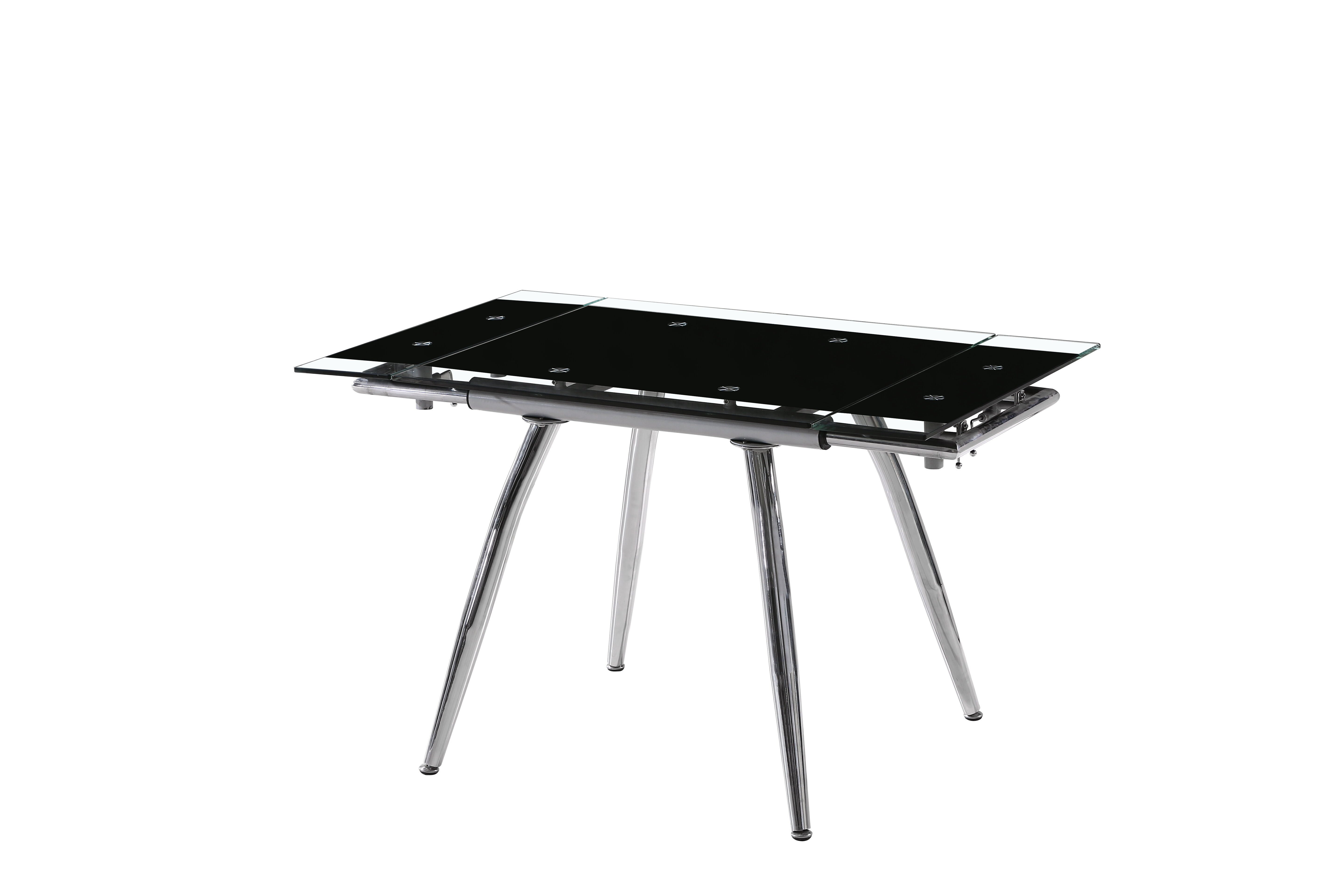 Orren Ellis Boothe Extendable Dining Table Wayfair - Dining table with built in grill