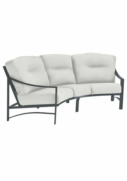 a3f67ad7f4b Tropitone Kenzo Patio Sofa with Cushions   Wayfair