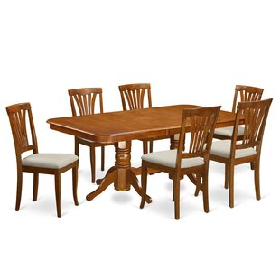 Pillsbury 7 Piece Extendable Dining Set
