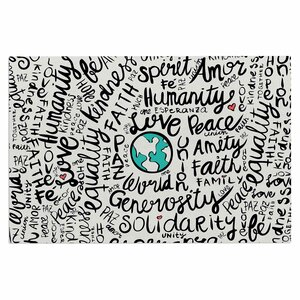'Positive World' Doormat