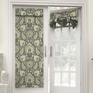 Clifton Hall Nature/Floral Semi Sheer Rod Pocket Single Curtain Panel
