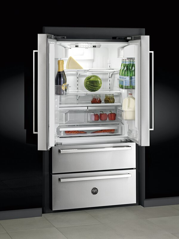 Bertazzoni 21 Cu Ft Counter Depth French Door Refrigerator