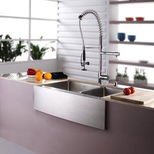 Farmhouse Kitchen Faucet | Wayfair