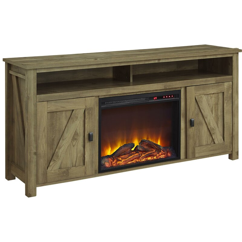 Whittier Tv Stand For Tvs Up To 60 With Fireplace Reviews Joss