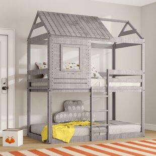 Club House Bunk Bed Wayfair