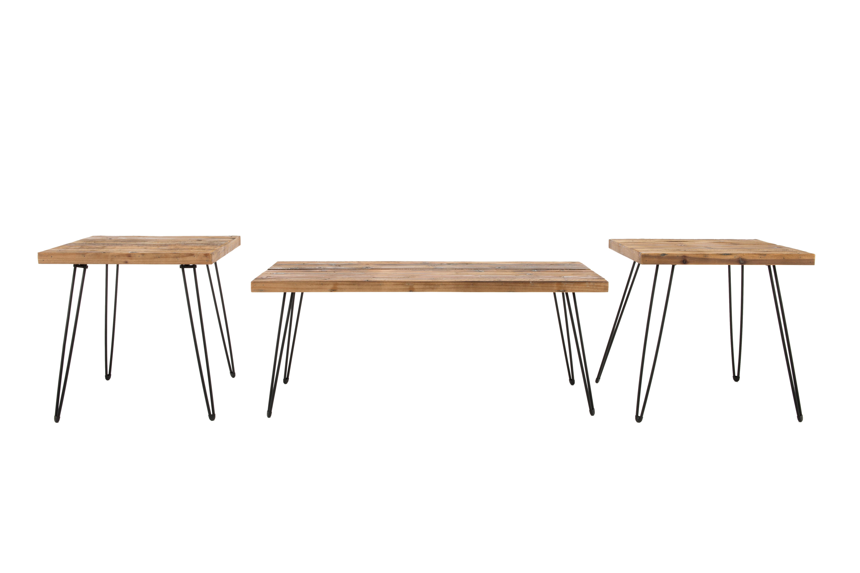 Stuber Living Room 3 Piece Coffee Table Set & Reviews | AllModern