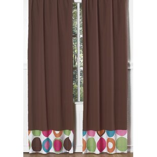 Deco Dot Curtain Panels (Set Of 2)