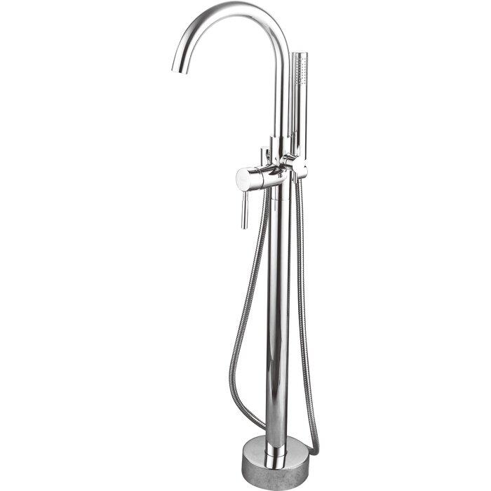 Averen Inc Kebo Single Handle Floor Mount Tub Faucet & Reviews ...