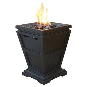 Addams Faux Stone Fire Column