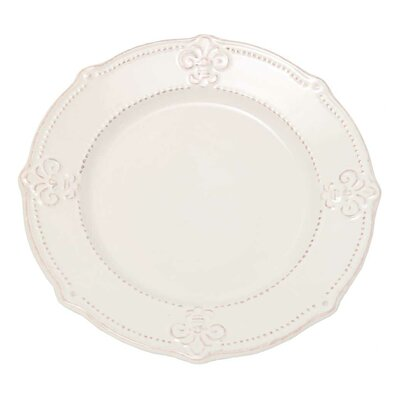 Ophelia Co Oswaldo 10 Fleur De Lis Dinner Plate Wayfair  sc 1 st  tagranks.com & Marvelous Fleur De Lis Dinnerware Pictures - Best Image Engine ...