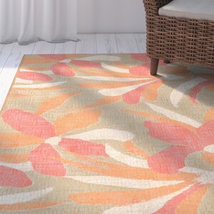 Coeur Flower Indoor/Outdoor Area Rug