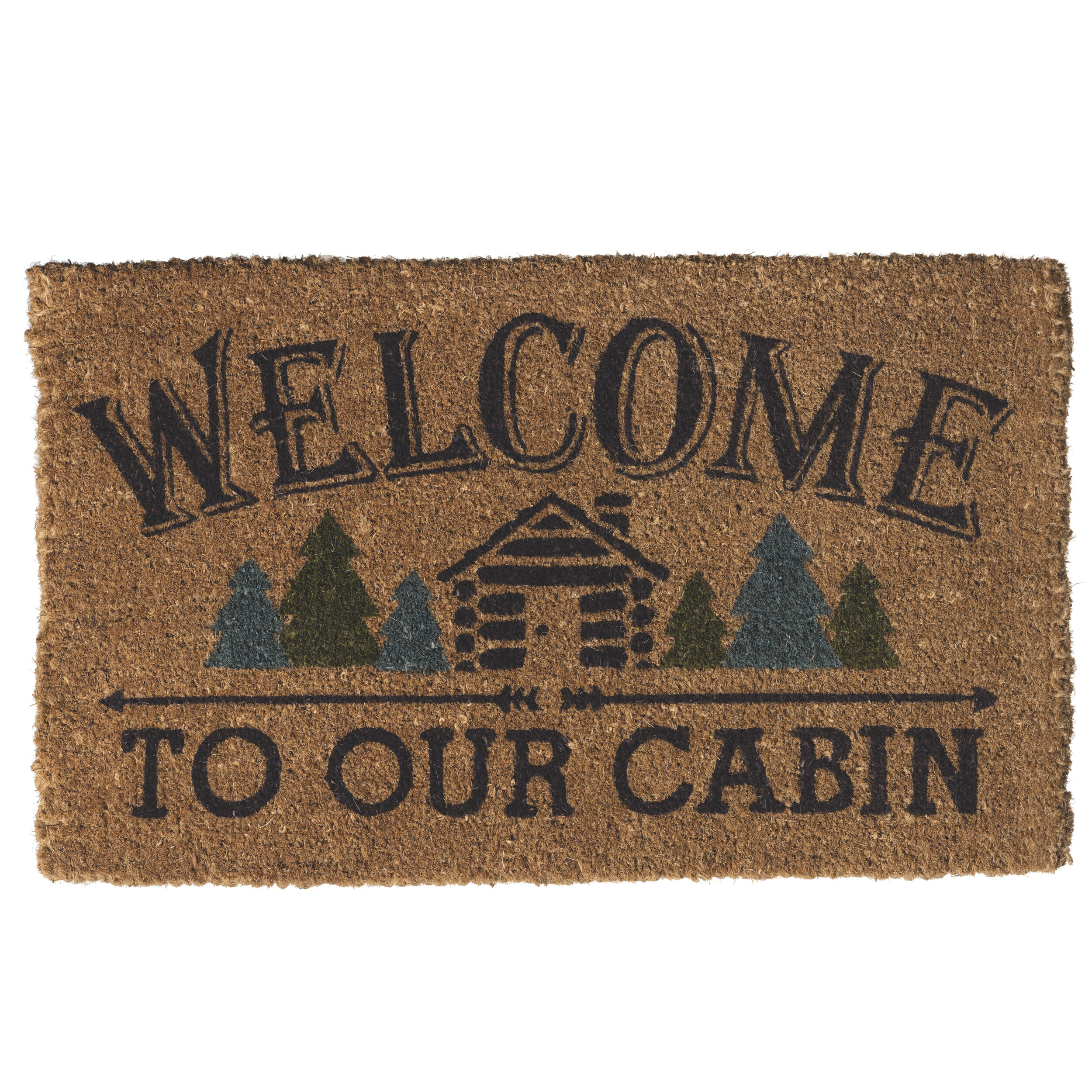 Attrayant Prinz U0027Welcome To Our Cabinu0027 Doormat | Wayfair
