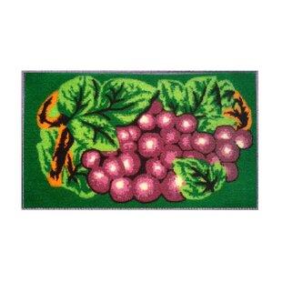 Eilish Grape Kitchen Mat