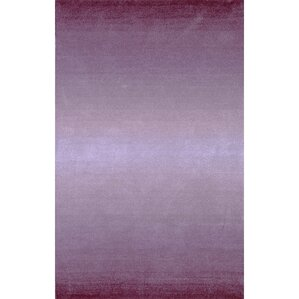 belding handtufted wool purple area rug