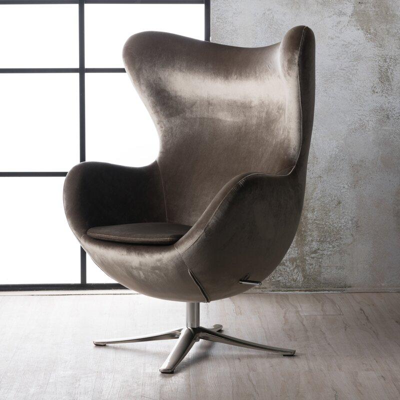Korinna Swivel Balloon Chair Amp Reviews Allmodern
