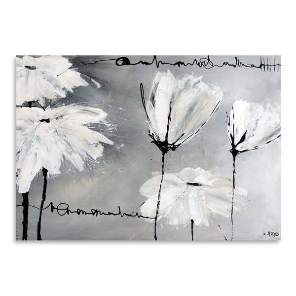 White flower painting wayfair mightylinksfo