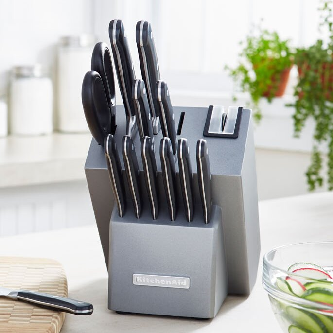 Iconic Kitchenaid Knife Block Set on red knife set, calphalon 16 piece knife set, calphalon knife block set, gladiator knife block set, sunbeam knife block set, zebra knife set, emeril knife block set, sabatier knife block set, henckels knife block set, cuisinart knife block set, oster knife block set, wolfgang puck knife block set, fiesta knife block set, jcpenney knife set, ronco knife block set, voodoo knife block set, global knife block set, hampton forge knife block set, guy fieri knife block set, oxo knife block set,