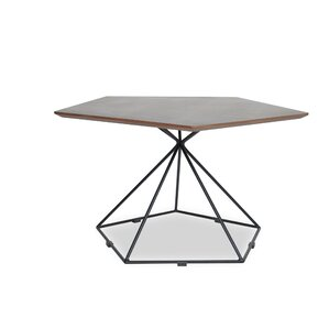 Gentry Coffee Table in Black Steel by Ashcroft Imports