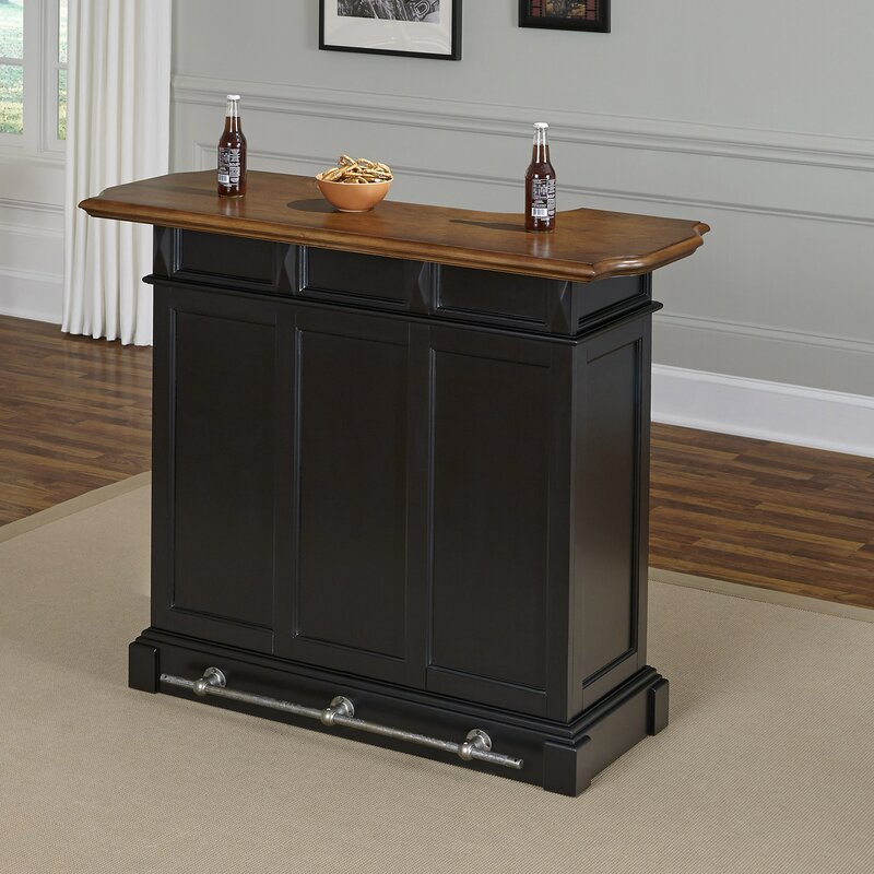 . August Grove Collette Home Bar   Reviews   Wayfair