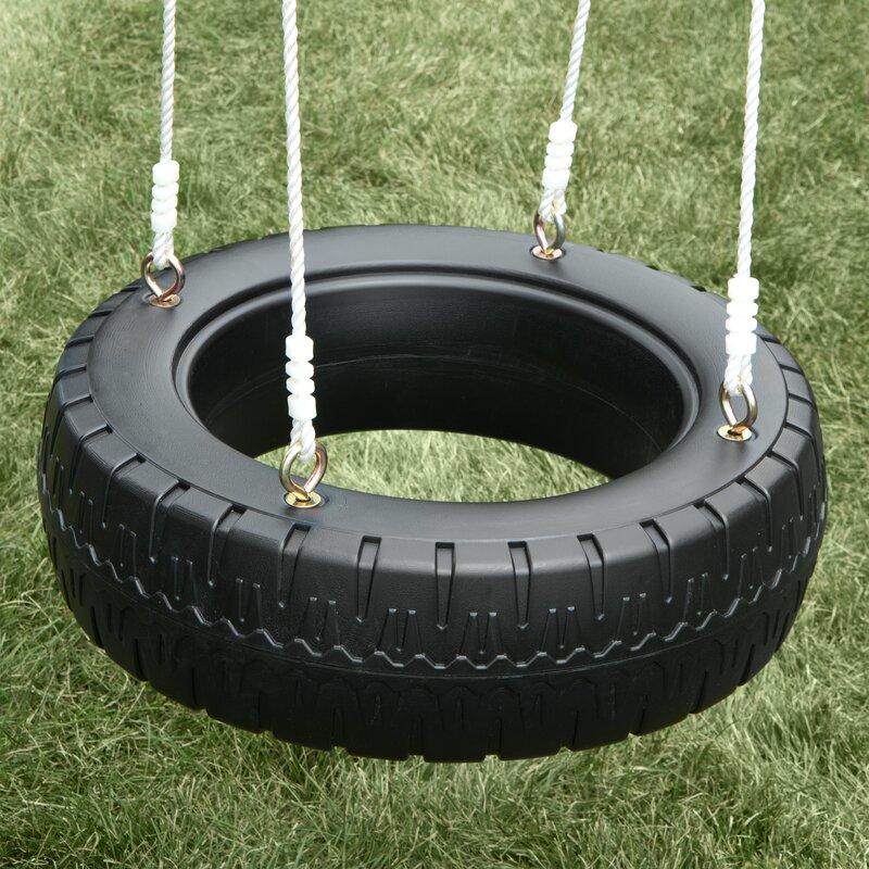 Swing N Slide Classic Tire Swing Amp Reviews Wayfair