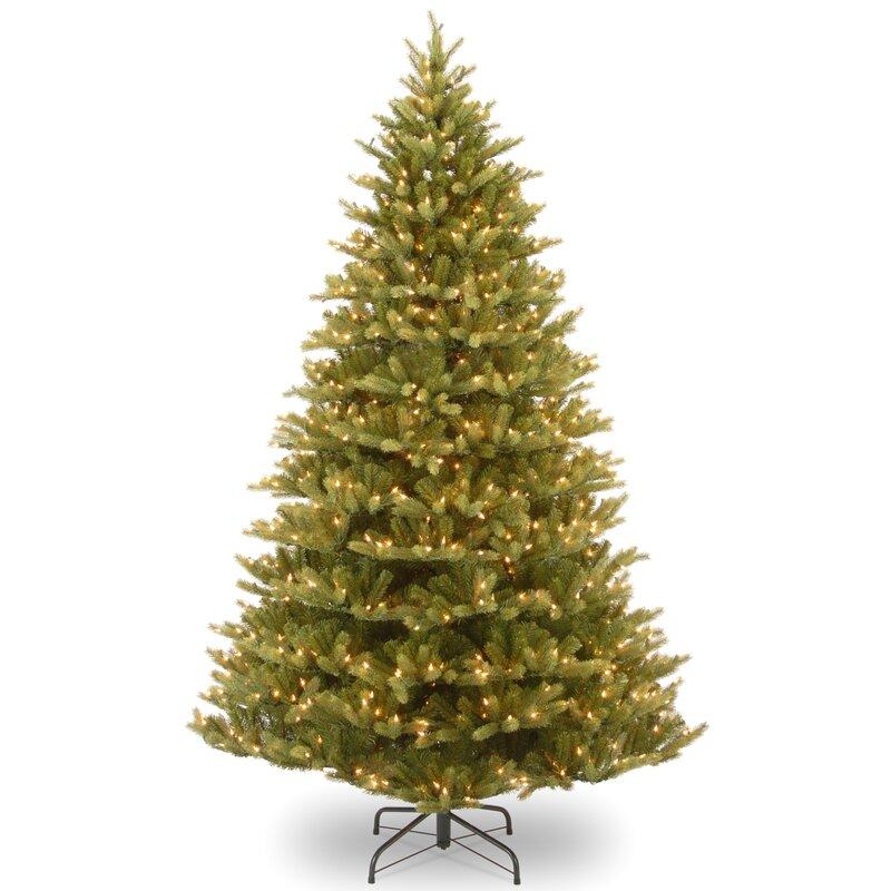 National Tree Co. Normandy Fir 7.5' Green Artificial Christmas ...