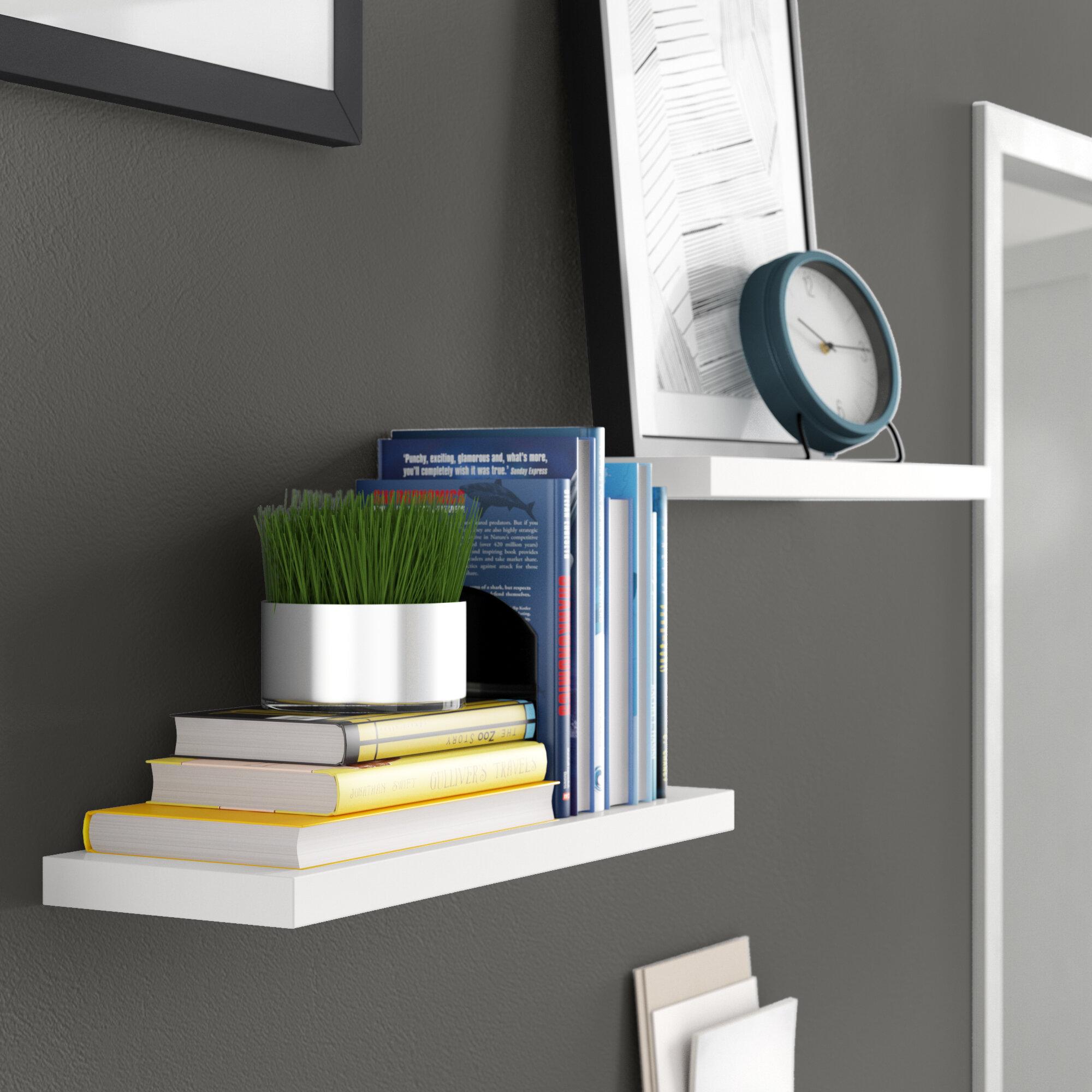 Fine Kennesaw Floating Wall Shelf Download Free Architecture Designs Lukepmadebymaigaardcom