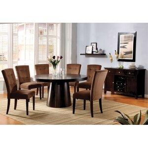 Kleopatra Velvet Parsons Chair (Set of 2)