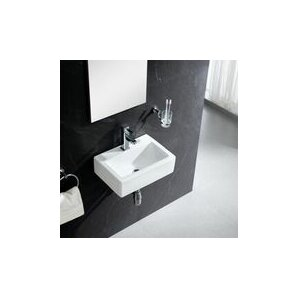 Bathroom Sinks Modern wall mounted sinks you'll love | wayfair