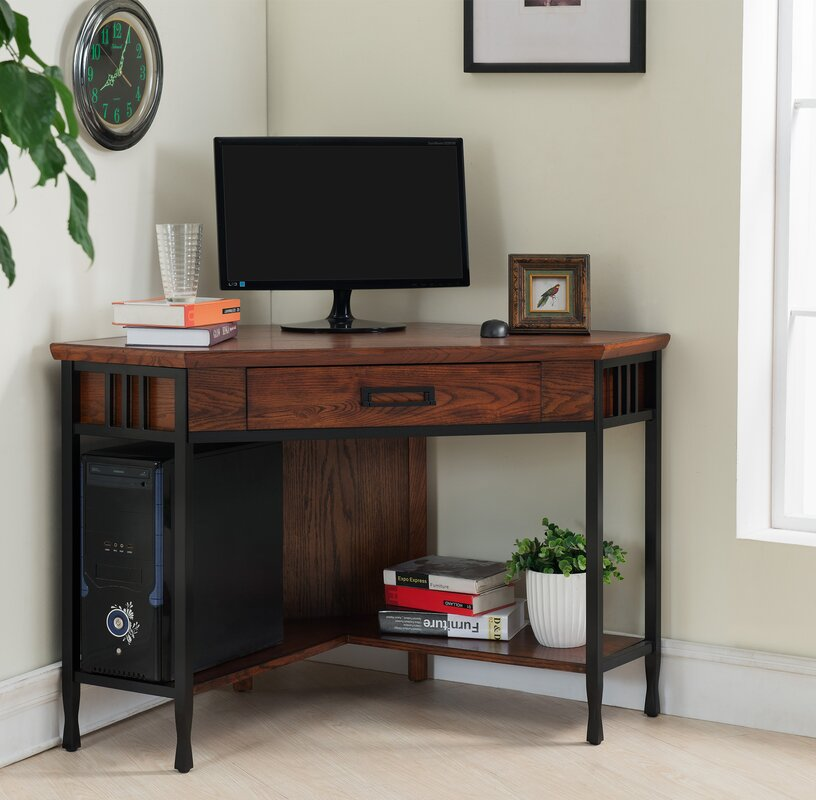 Loon Peak Clearsky Corner Desk Amp Reviews Wayfair