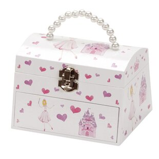 Eleanor Princess and Castle Chest Style Musical Jewellery Case by Mele&Co